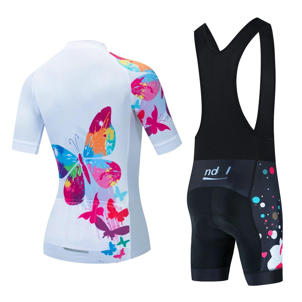 Женщины Велоспорт Одежда Велосипедная одежда Велоспорт Джерси Наборы