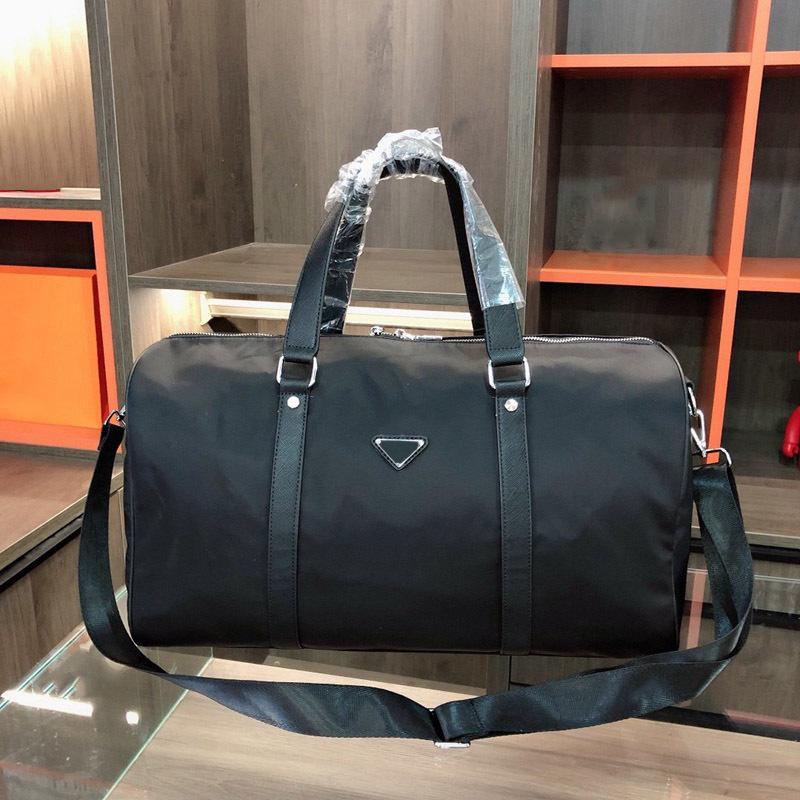 Tasche EWVFT Schulter Top Männer Taschen Triple Strap Black Bag Business Herren Nylon Fashion Travel Work Gentleman mit Duffle Gepäckgriff IBFQT