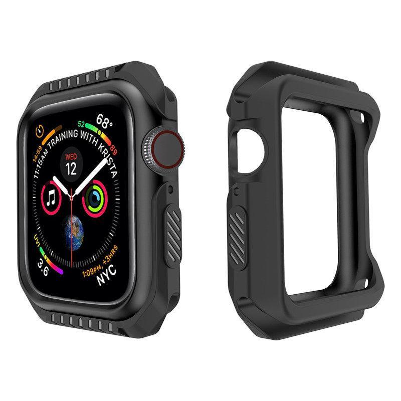 Uhren-Hüllen-Beschützer für Apple iWatch 456 Smart Accessories Wearable Technology 8 Color Silicone Sport Styles