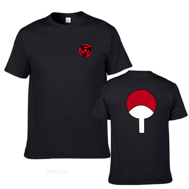 Naruto Summer Anime Yuzhibo manches courtes T-shirt homme