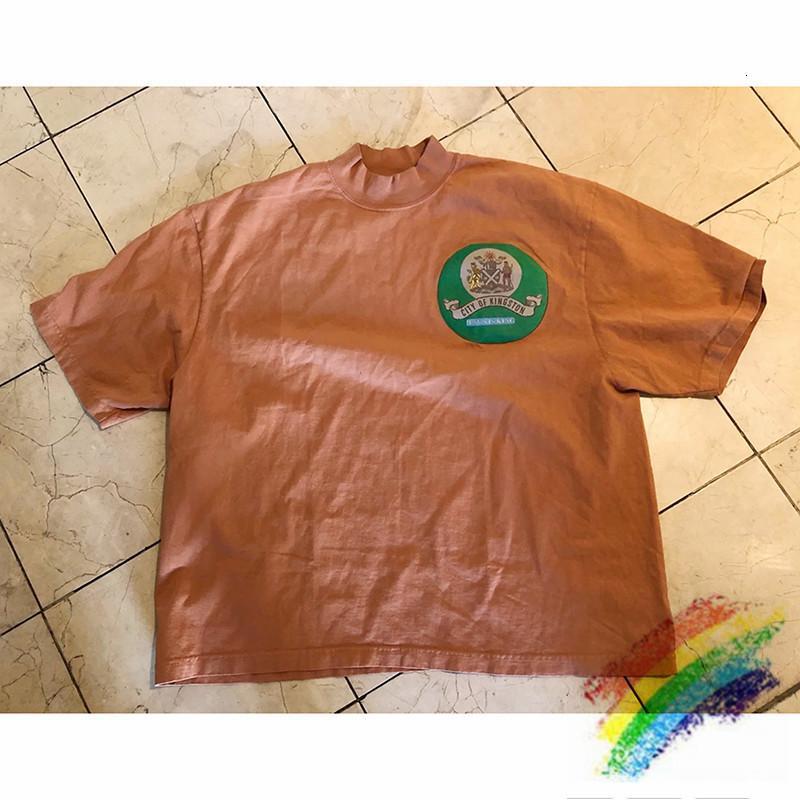 2021 Yeni Com Estampa 3D Kanye İsa, Camiseta Selada de Gua, Masculina e Feminina, 1: 1 Camisetas AVCX