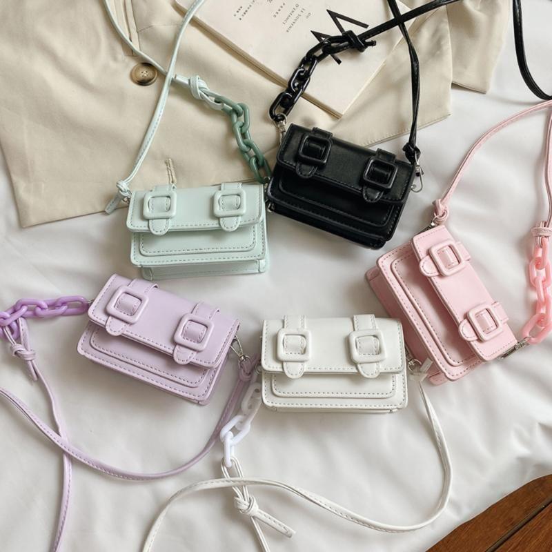 Frauen Umhängetaschen Mode Candy Crossbody 2021 Sommer Neue Qualität Wild PU-Leder Koreanische Version der Handtasche Wild