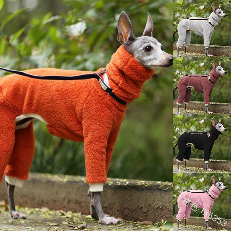 Novo animal de estimação quente moda cão de algodão roupas