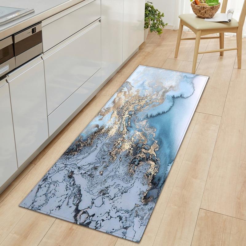 Мраморная ковровое покрытие коврик каменная тема дверной коврик Alfombras Para La Sala Moderna Коврик для гостиной зона