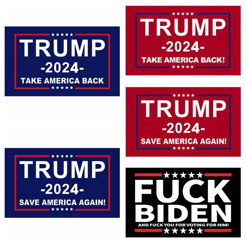 ترامب العلم 2024 أعلام الانتخابات بانر دونالد ترامب العلم حفظ أمريكا مرة أخرى 150 * 90 سنتيمتر 5 أنماط ترامب أعلام Zzz2984