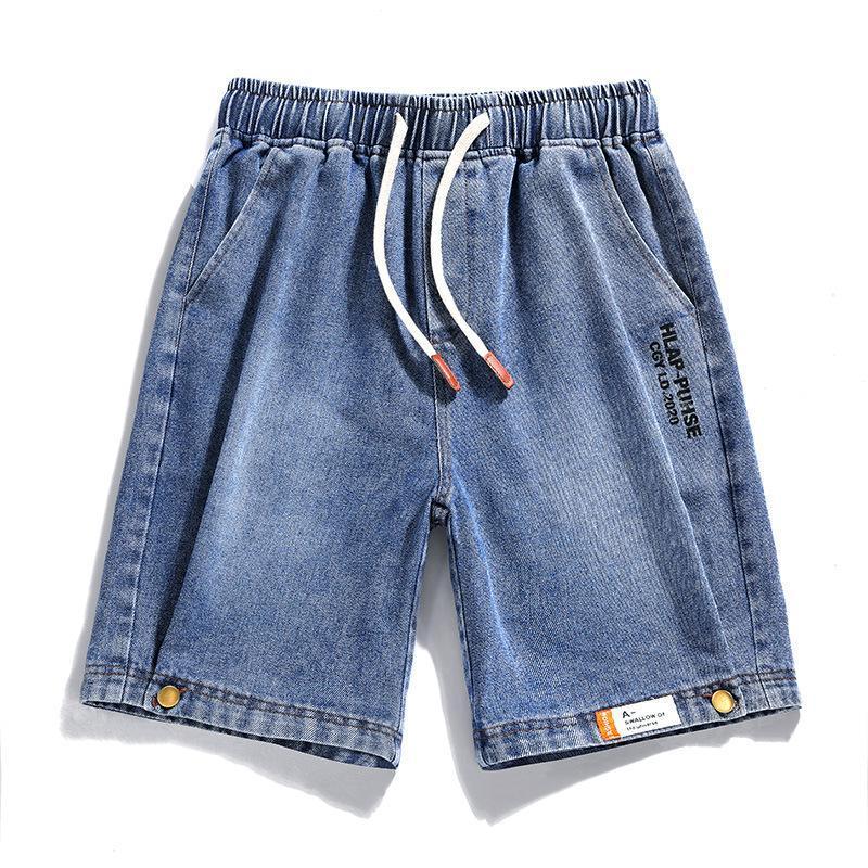 Männer Shorts 2021 Sommer Männer Jeans Plus Size Mode Designer Baumwolle Slim M-5XL AYG241