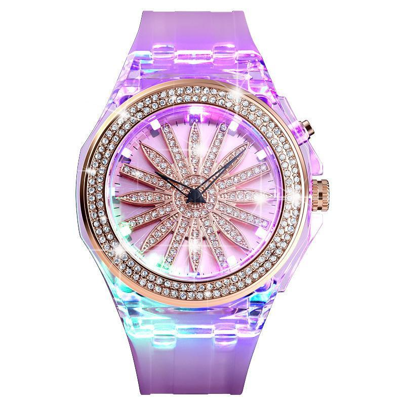 Armbanduhren Damen Diamant LED Quarz Uhren Frauen Luxus Mode Armbanduhr Geschenke