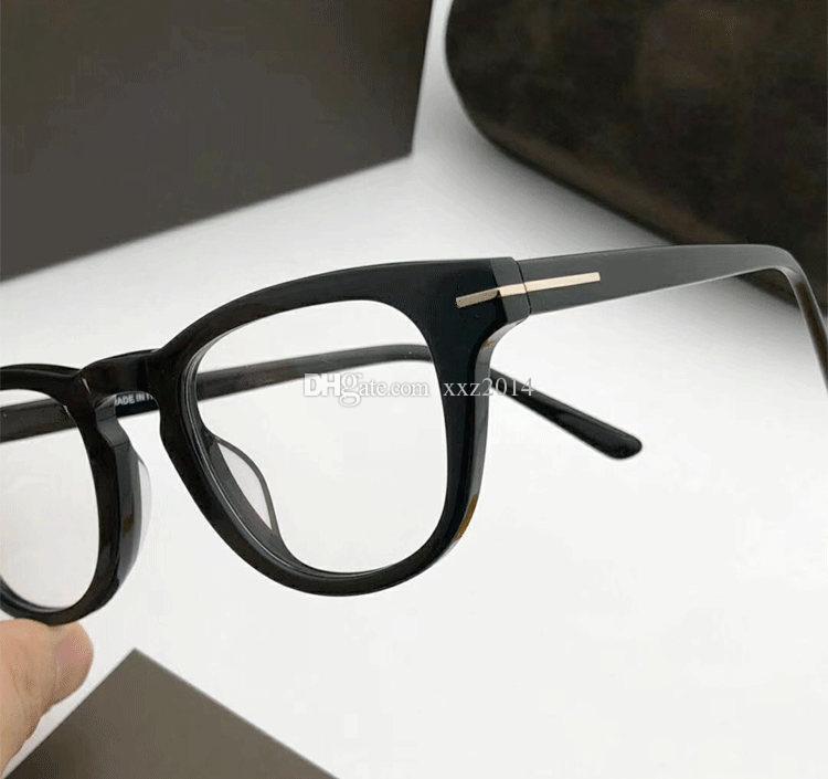 Newarrival Quality 5488 للجنسين تصميم نظارات الشمس الإطار عادي النظارات 48-23-145 للصفة إيطاليا بلانك fullrim fullupet case