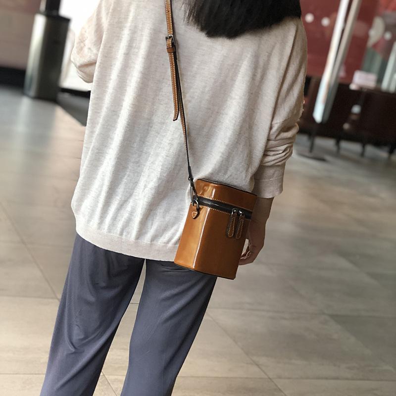 Женщины YourSeason Mini Bags 2021 Натуральная кожа повседневная дамские плечо Сумка для мобильного телефона Howhide