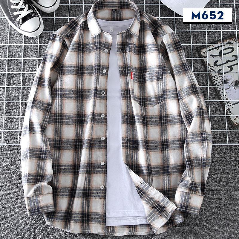 Camicia casual da uomo Camicia a quadri in flanella 100% cotone slim fit primavera autunno maschio marca a maniche lunghe maniche maniche lunghe cappotto comodo