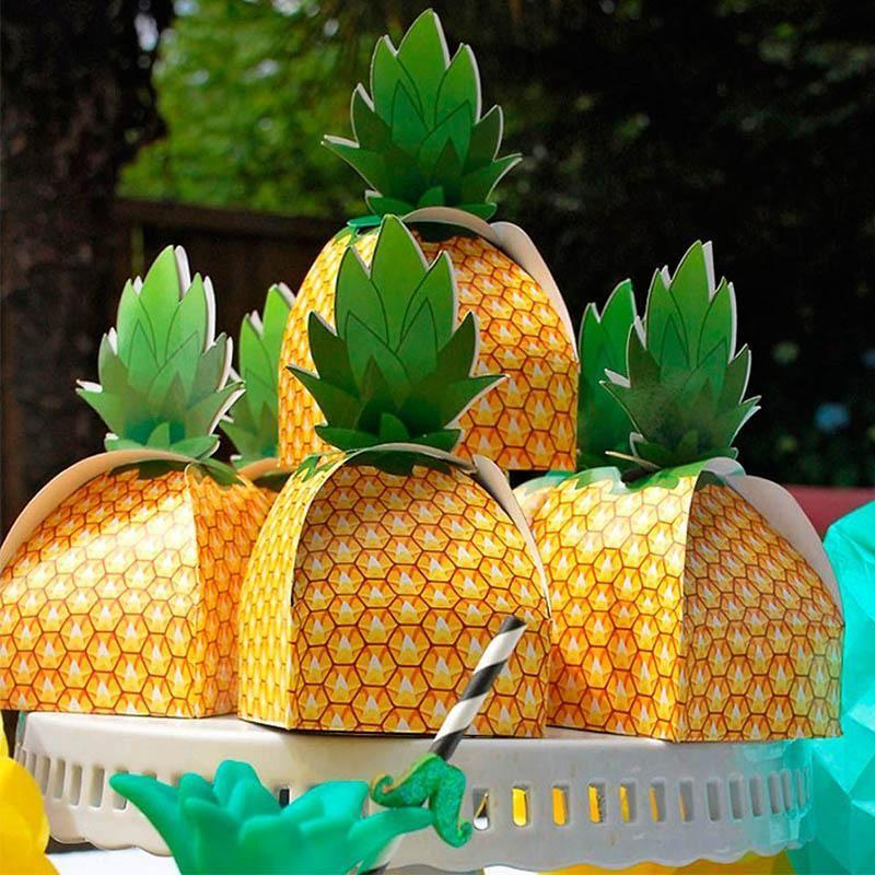 9 * 9 * 17 см С Днем рождения, поставляет свадьба Свадебные одобрения летний столик партии украшения формы подарочной сумки 50шт конфеты коробки