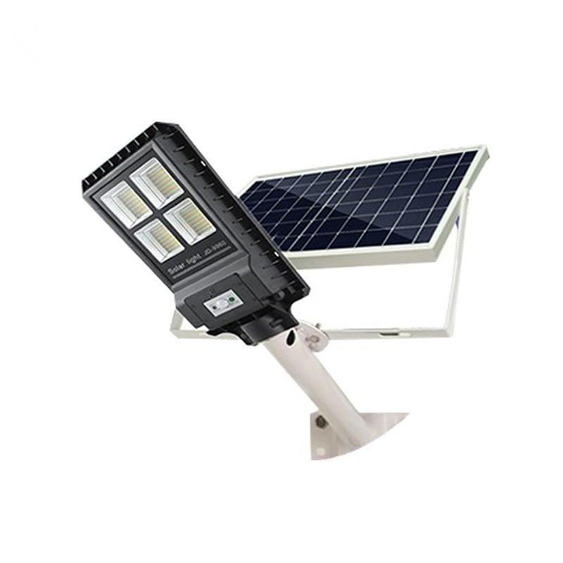 2021 Водонепроницаемый светодиодный солнечный уличный свет Открытый 30 Вт 60 Вт 90 Вт Солнечный сад Уличное освещение PIR Датчик движения