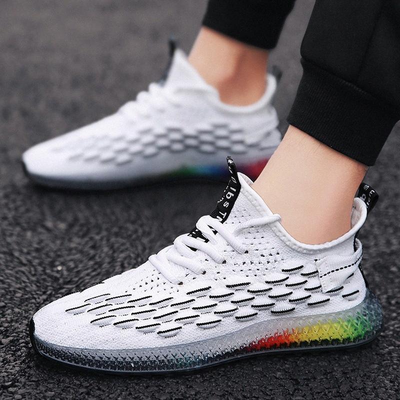 Atmungsaktive männliche mode sneakers männer lässig sneaker männer casual schuhe comfort schuhe trend sommer turnschuhe trainer q9py #