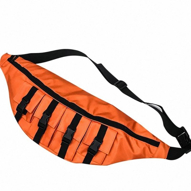 Mens Womens Peito Bags Streetwear Casual Bags Bolsas Bolsas de Ombro de Viagem Bolsas de Ombro Hip Hop Hop Capacidade Alta Capacidade Q7yl #
