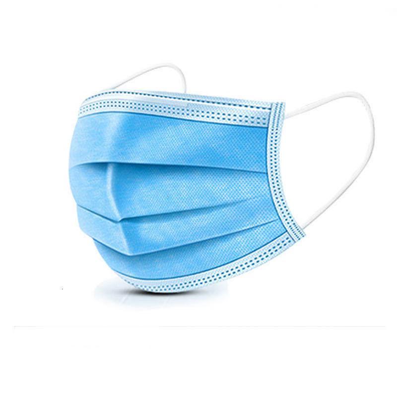 Защитный среднего расплава взорванные ткани слой одноразовой три маски
