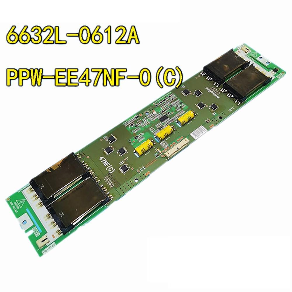 Travaux testés Bateau de télétravage original de la carte TV Pièces de carte PCB pour LG 6632L-0612A PPW-EE47NF-0 (C) Écran LC470WUN