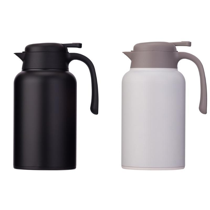 316 Doublure en acier inoxydable Pot d'isolation thermique à eau de café pour boissons chaudes et froides (Blanc Blanc) avec Retailsale