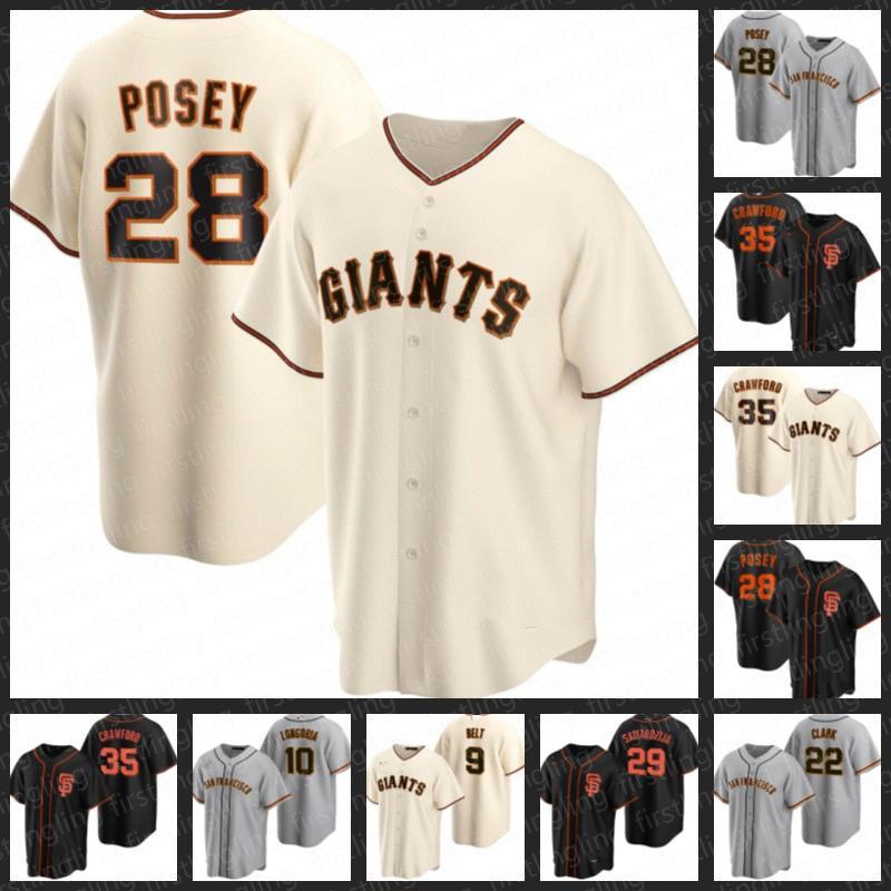 2021 New San Francisco 28 Buster Posey Giants Джетки 35 Брэндон Кроуфорд 34 Кевин Гаусман 37 Мэтт Вислей Бейсбол Evan Longoria Alex Dickerson Mike Tauchman