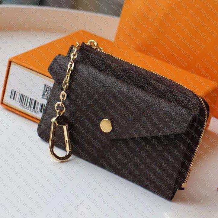 M69431 Titolare della carta Recto Verso Designer Fashion Womens Mini Zippy Organizer Portafoglio Coin Borsa Borsa Borsa Cintura Charm Key Pouch Pochette Accessori