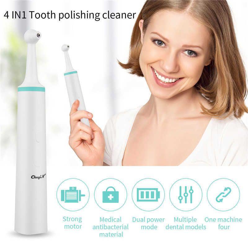 4 في 1 طب الأسنان حساب الفولاذ المزيل أداة كيت usb الأسنان تبييض الأسنان مكشطة طرارات إزالة اللطخة ممحاة الملمع المنظف 38 Q0531