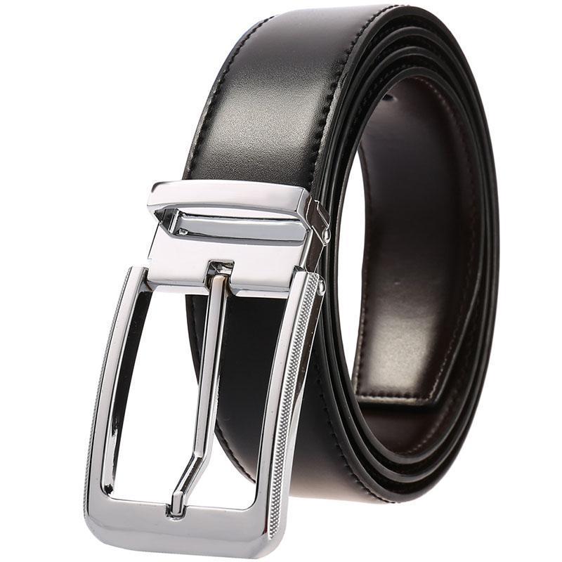 أحزمة الرجال حزام الذكور جلد البقر الفاخرة مصمم دبوس مشبك الخصر للجينز كينتورون رعاة البقر هومبر ceinture أوم
