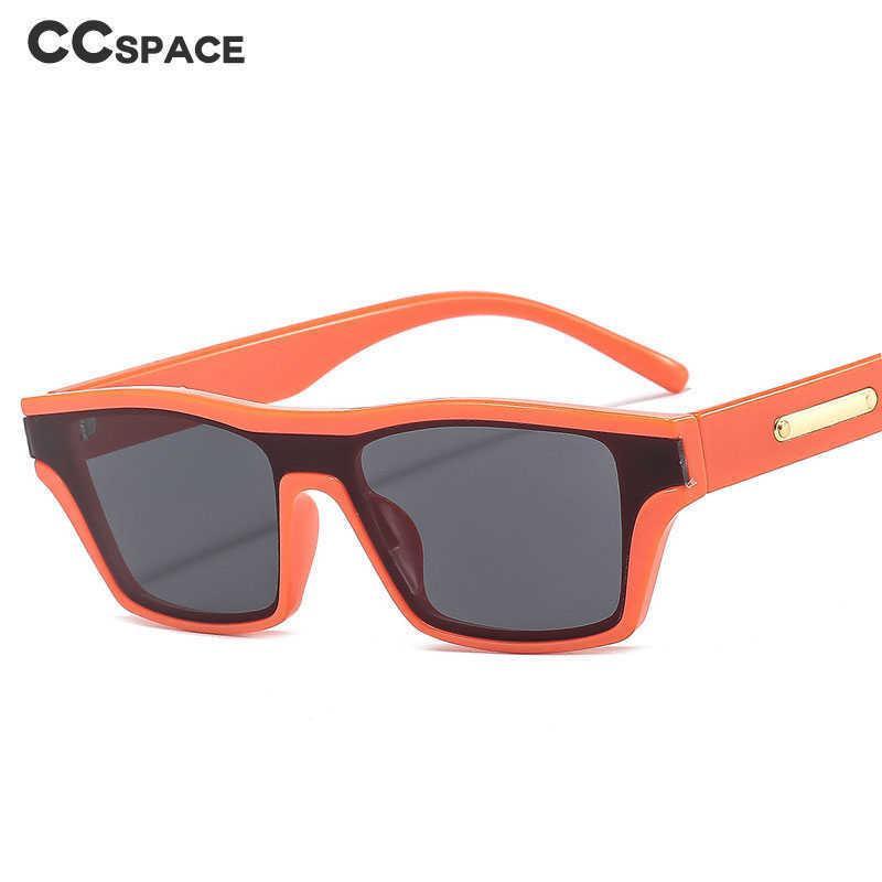 46647 Retro One Linse Quadrat Cat Eye Sonnenbrille Mode Männer Frauen Shades UV400 Vintage Brille 210529