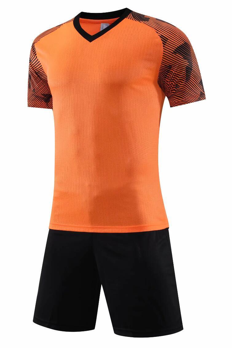 0113 Hommes Football Shirt Kits Jersey Football Taille adulte Taille à manches courtes Ensemble Suit Jogging TrackSuit Set