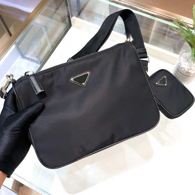 2021 Meilleure vente Sac à bandoulière de mode célèbre Mens de marque Mens Portefeuille en gros sacs à bandoulière sacs de Nylon de haute qualité 2vh113