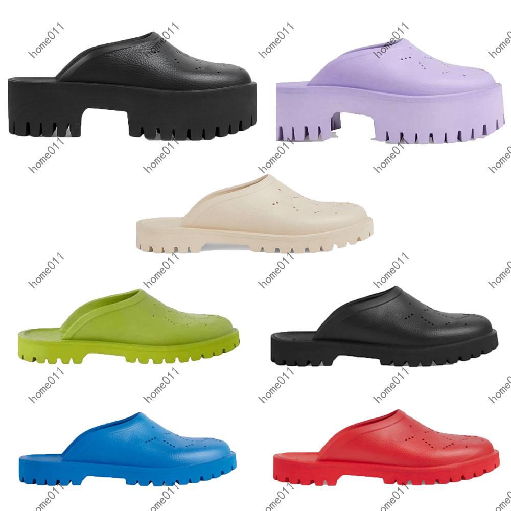 Clássicos Menwomen Slipper Moda Sandálias Slides Summer Sexy Real Couro Plataforma Flats Sapatos Senhoras Praia Chinelos Home011 060