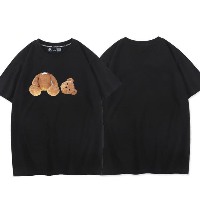 2021 Mode 100% Baumwolle Herren T-shirts Sommer Druck Cartoon T-shirt Frauen Damen Kurzarm Rundhals T-shirts Neuer Mann T-Shirts