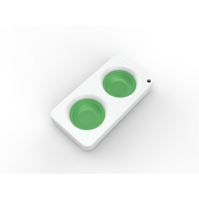 20pcs / 무료 선박 푸시 버블 간단한 키 체인 감각 fidget 장난감 손가락 짜기 푸시 팝 게임 전화 펜던트 스트레스 해리 HH34QS67