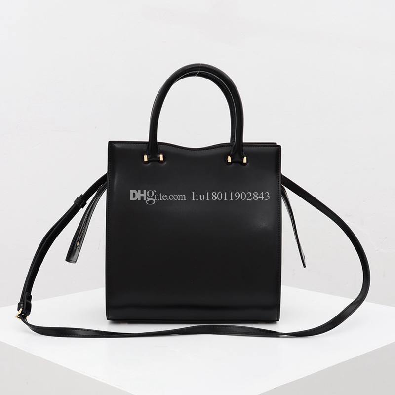 Sac à main de la femme de haute qualité de la femme de haute qualité, sac à bandoulière de grande taille contient un petit portefeuille à l'intérieur des sacs à glissière 23cm Envoyer une boîte 3 # A 1958
