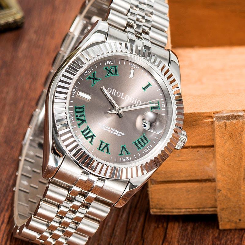 2021 Montre de luxe Мужские часы 41 мм Автоматическое движение Полная нержавеющая сталь Часы 2813 Механические наручные часы Водонепроницаемый Светостойкий U1 завод