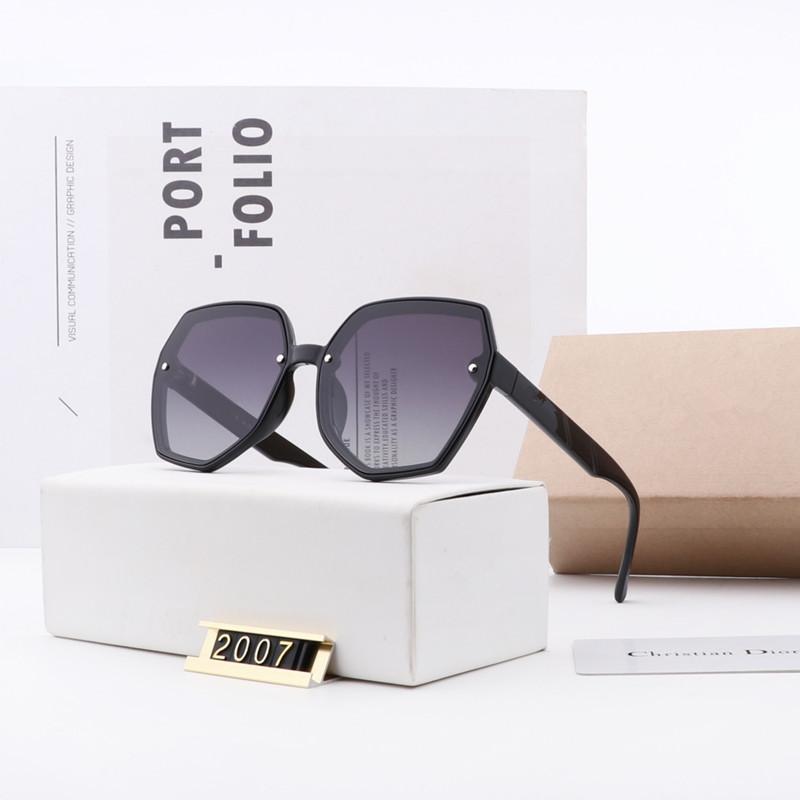 브랜드 디자인 편광 안경 프레임 여성 선글라스 UV400 안경 클래식 드라이버 안경 큰 다이아몬드 유리 렌즈 상자 wx6