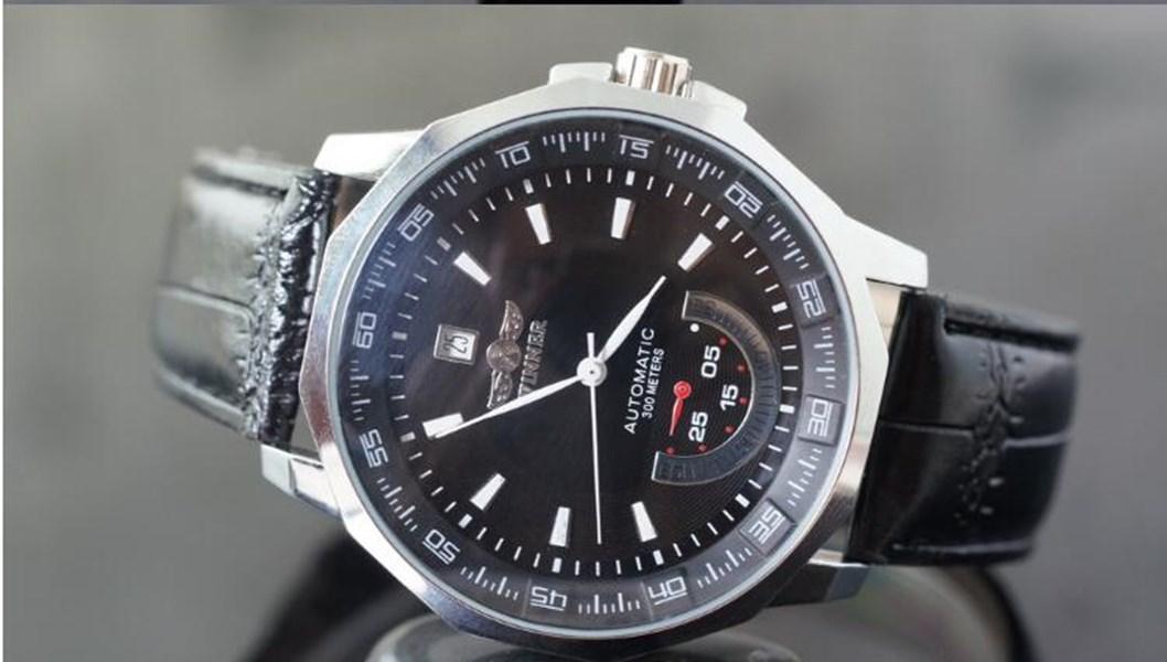 탑 판매 수상자 패션 남자 시계 망 자동 시계 손목 시계 남성 WN02