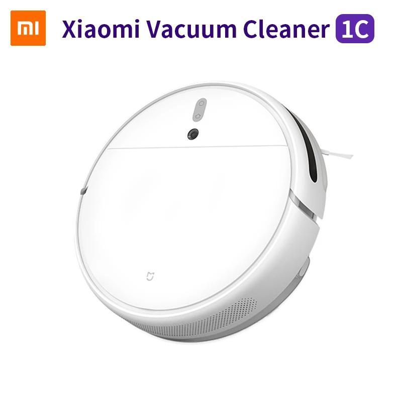 Global Version Xiaomi Mijia 1C Вакуумный очиститель STYTJ01ZM Smoothing Mopping Sterilize 2500PA Home Auto Pust WiFi приложение Remotecontrol