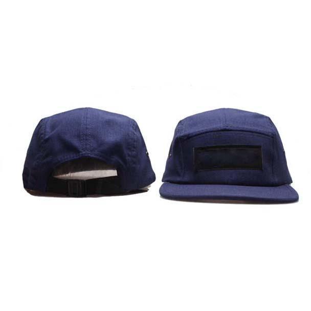 Moda 5 Painel Caps Snapback Homens Mulheres Chapéus Designer chapéu Ajustável Strapback Casquette Sports Baseball Cap Black Camo Alta Qualidade