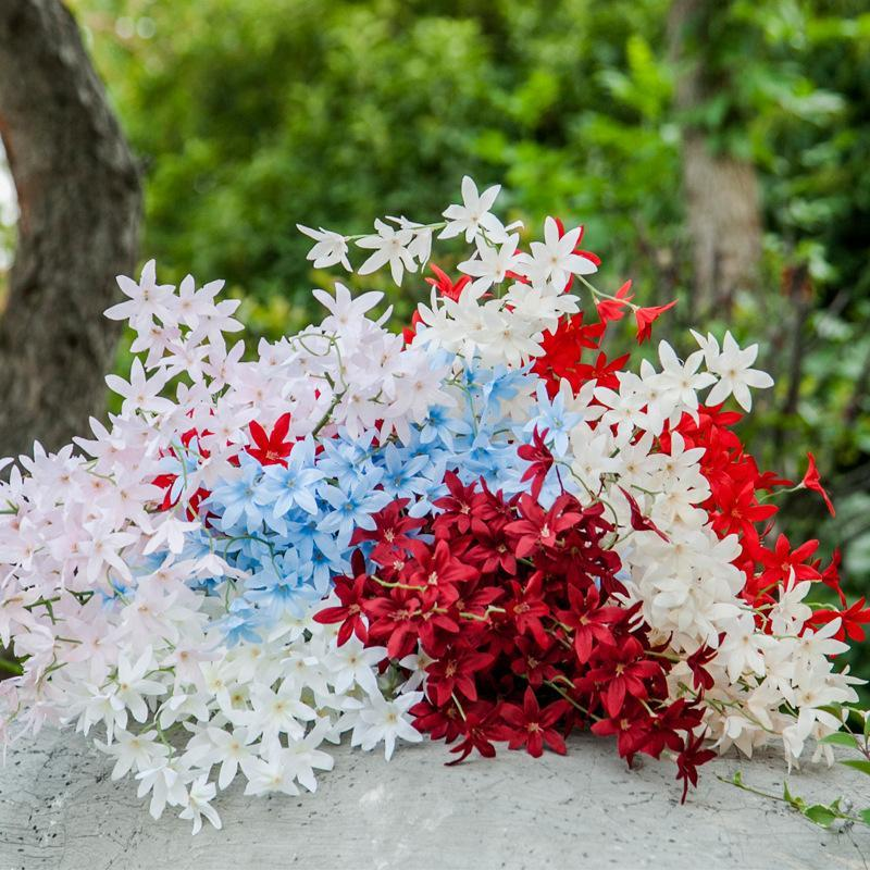 Oncidium Imitazione Fiori Dancing-Lady Orchid Nozze Paesaggistica Pianta Pianta Casa Matrimonio Fiore Decorativo Fiore Cherry Blossom