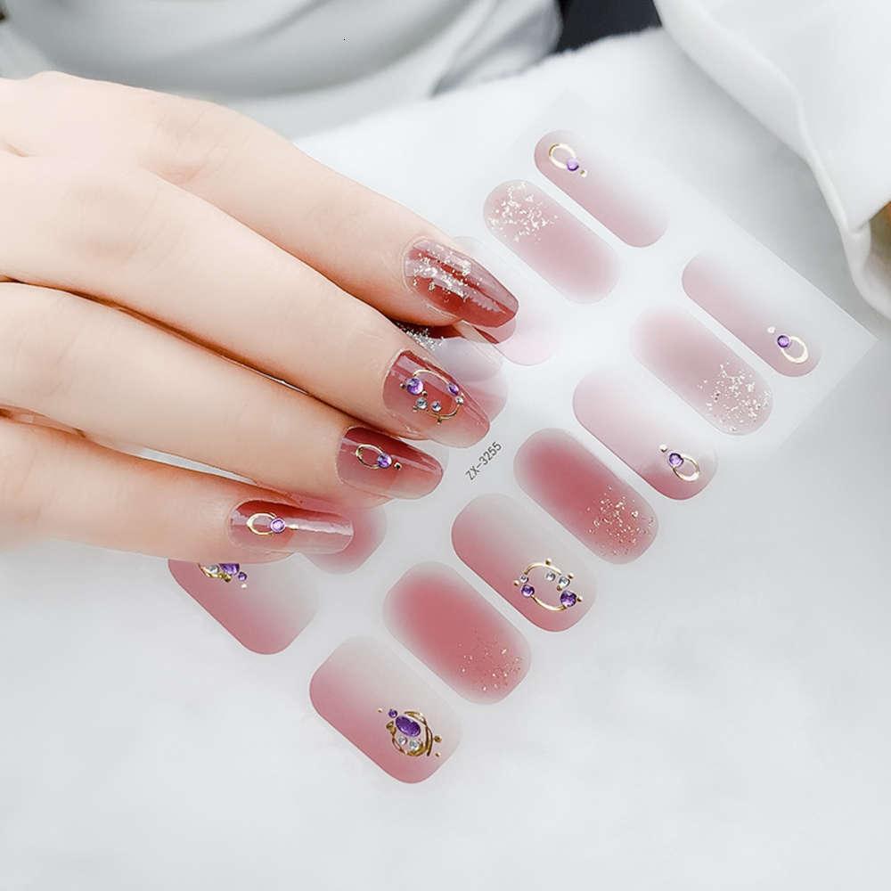 Caishangxiu 2020 Neue Mode Mädchen 3D Farbe Diamant Nagel Verbesserung Aufkleber