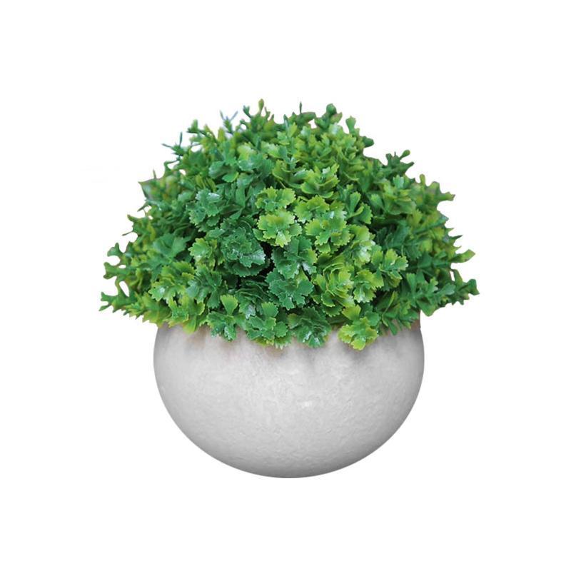 Dekorative Blumen Kränze Künstliche Topf Gras Ball Simulation Anlage Dekor Home Büro Tischdekoration