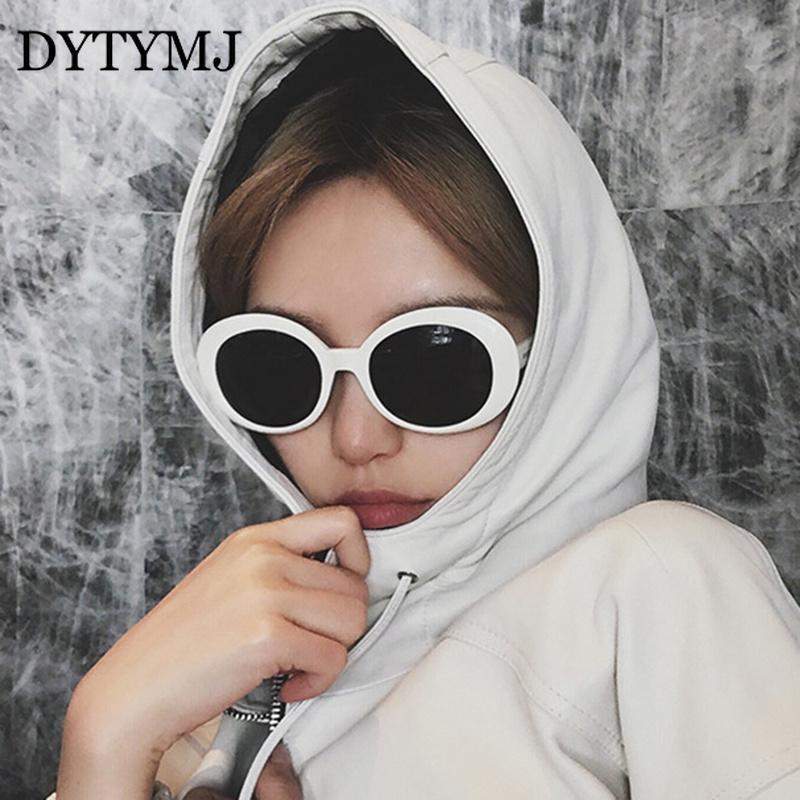 Güneş Gözlüğü Dytymj Oval Kadınlar Vintage Yuvarlak Çerçeve Punk Gözlük Klasik Renkli Pembe Tonları Toptan Için