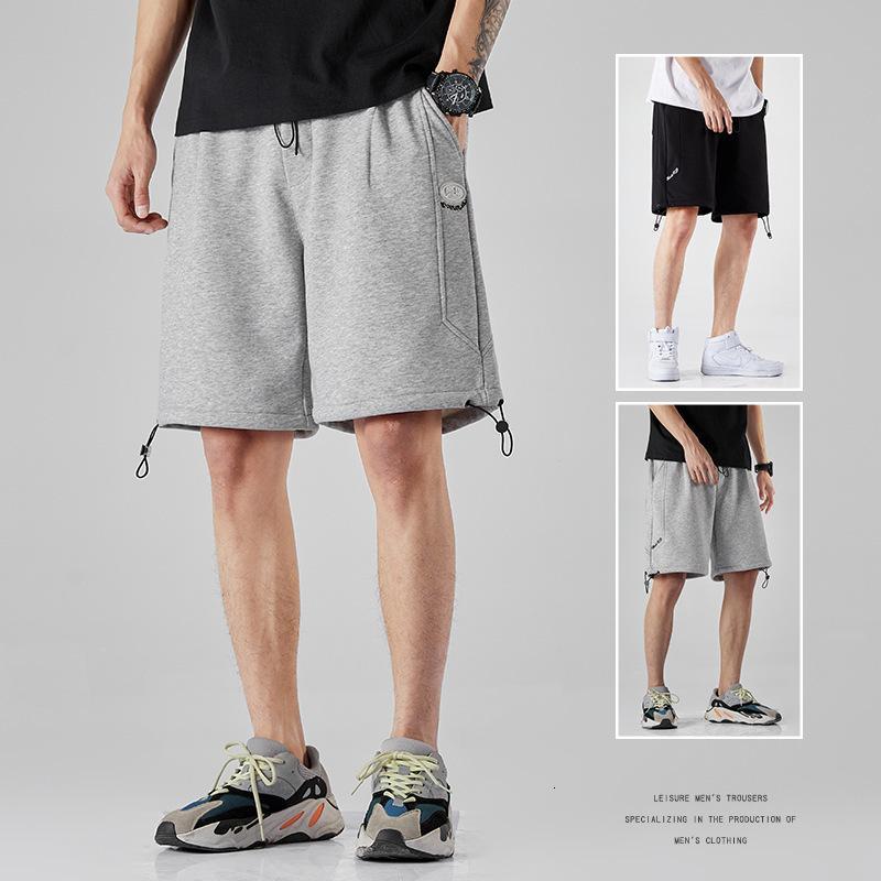 Summer Simple Fashion Youth Sport Sports Shorts Casual Beach Beach Capris Pantaloni da uomo