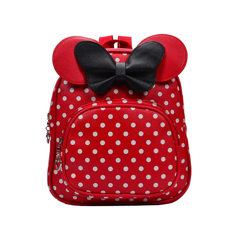 Çocuk Schoolbag Moda Trend Schoolbag Karikatür Sevimli Sırt Çantası PU Öğrencinin Schoolbag Kindergarten Sırt Çantası