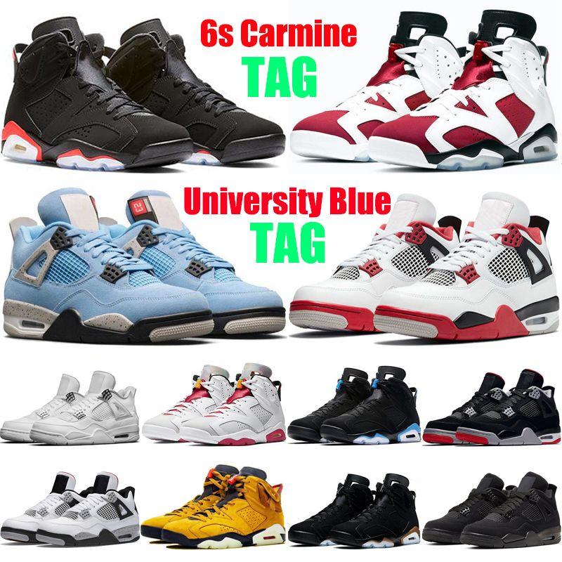 air jordan 4 6 retro retros 6s Zapatillas zapatos Giordania6 Scarpe da basket da uomo Olympic Oreo Sport Blue DMP Angry bull Bianco Nero Infared Atletico Sneakers