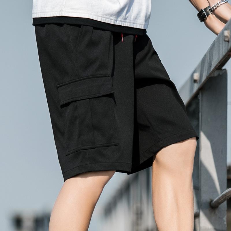 K523-4 yeni yaz capris rahat pantolon çok yönlü atmosfer erkek moda trendi