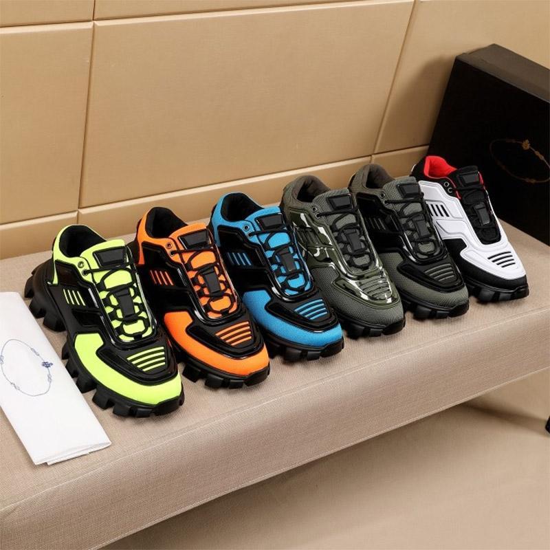 2021 جديد الرجال عارضة الأحذية الكبسولة سلسلة التمويه مصمم الأحذية أحدث p cloudbust thunder مصمم أحذية رياضية مطاط منخفض منصة الأحذية