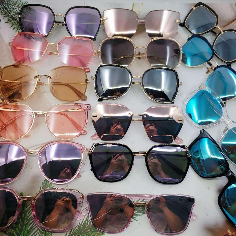Lotto misto di occhiali da sole da donna di alta qualità