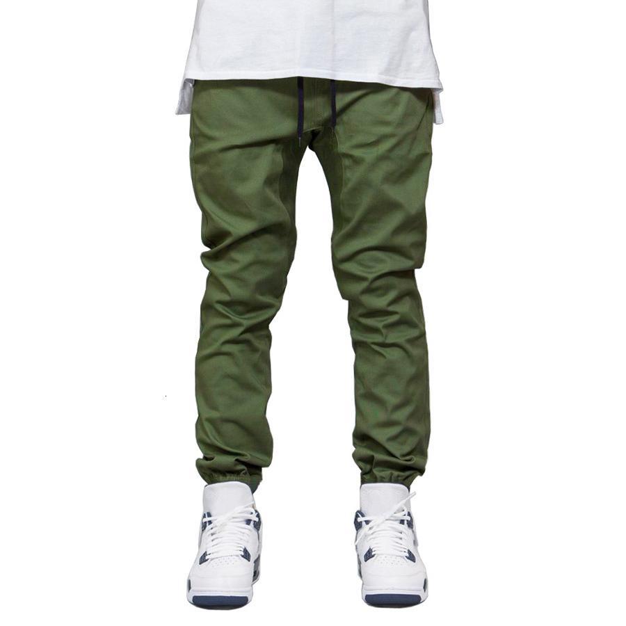 Hombres Jogger Pantalones Moda Otoño Hip Hop Harem Traje Joggers Corredor Pantalones para Hombres Nuevo Diseñador Pantalones Sólidos