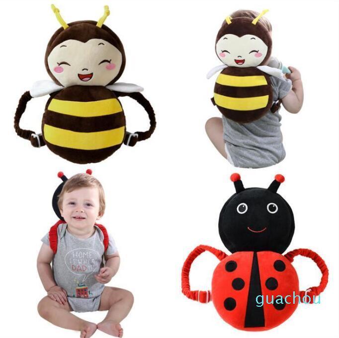 Toddler Tête de la tête Plaque d'oreiller de sécurité pour nourrisson réglable pour bébés Walkers Head Head Back protecteur Headgear C6967