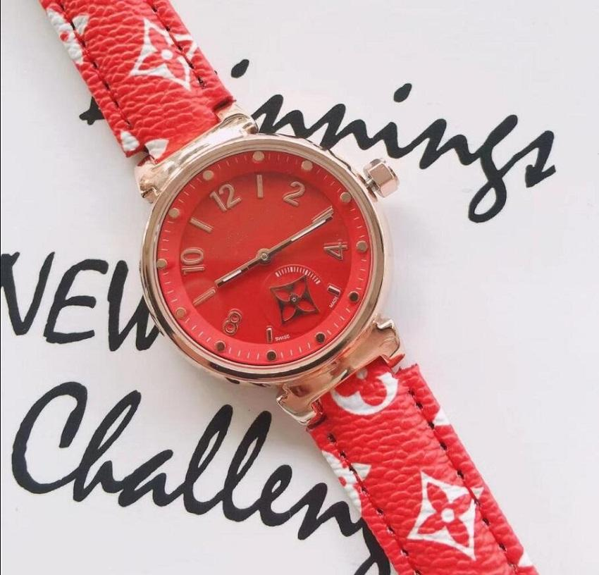 Orologio da donna per donna in pelle cinturino in pelle quarzo orologio da polso femminile orologio da donna moda moda diamante di lusso orologio